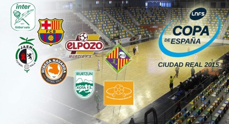 Sorteo de partidos XXVI Copa de España Fútbol Sala 72fca31e42a0b