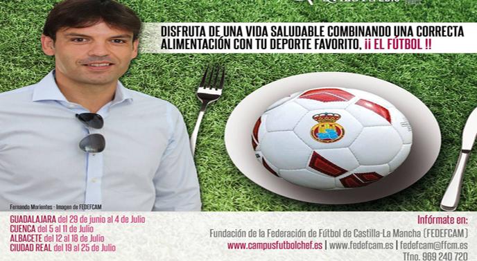 Los niños de Guadalajara disfrutarán de la II Experiencia Fútbol-Chef  Qvixote2015 Está organizada por la Fundación de la Federación de Fútbol de  Castilla-La ... c09f18b9cfd3f