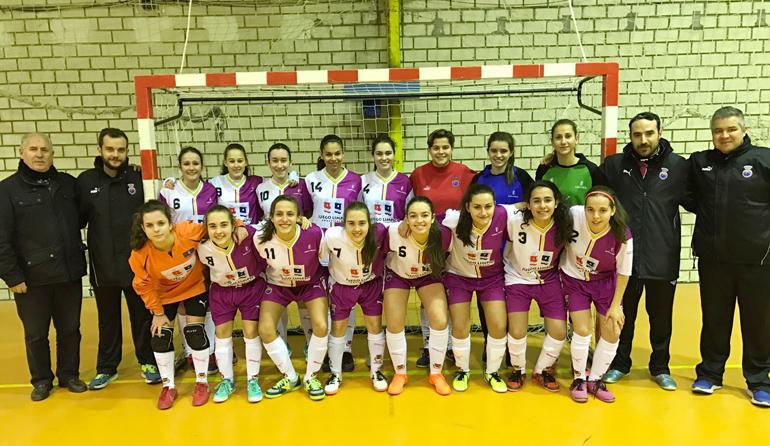 14af8d2726dbe La selección sub-17 femenina de fútbol sala de Castilla La Mancha debutará  en un Campeonato de España
