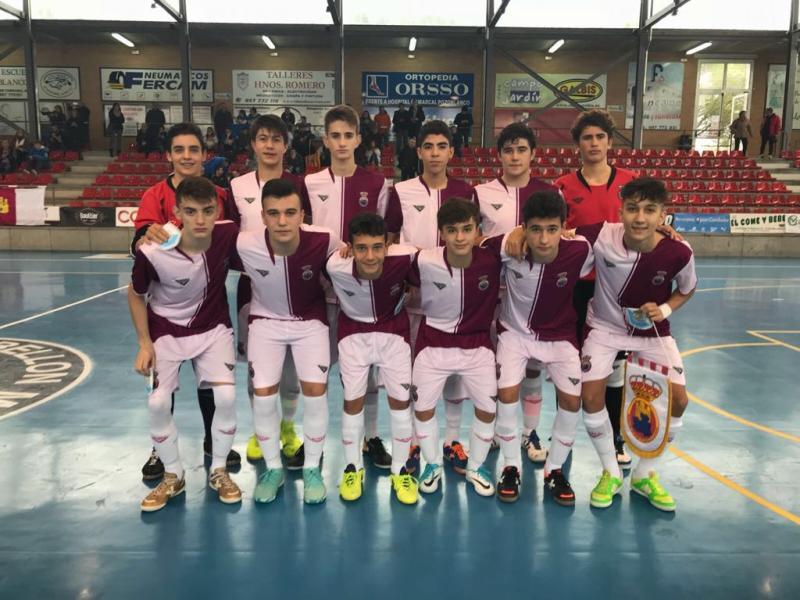 8a9f0ee538539 Castilla La Mancha vence en su debut del Campeonato de España de  Selecciones Sub-16 de Fútbol Sala