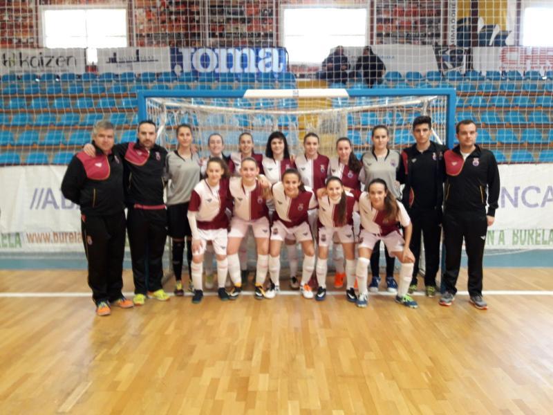 7232bee7b9627 La selección sub-17 femenina de fútbol sala vence 7-1 a Navarra en el  segundo partido del Campeonato de España