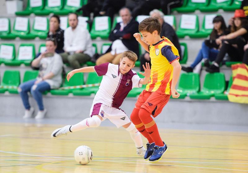ea046152da363 La selección alevín de fútbol sala cae en semifinales ante Cataluña