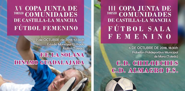 El próximo fin de semana se disputarán las finales de la Copa JCCM de Fútbol  y Fútbol Sala Femeninos d37b4455e6b5e